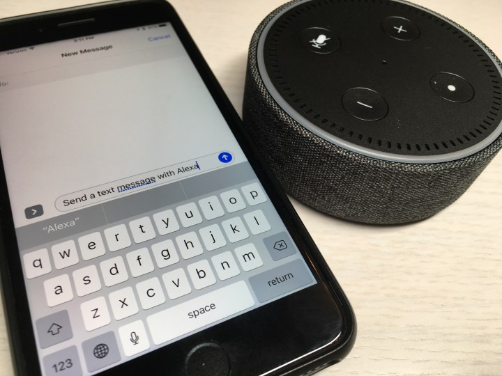 Send a Text Message with Alexa