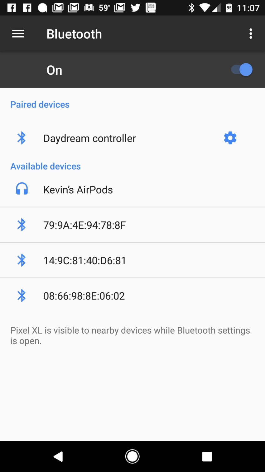 connect airpods to android phone