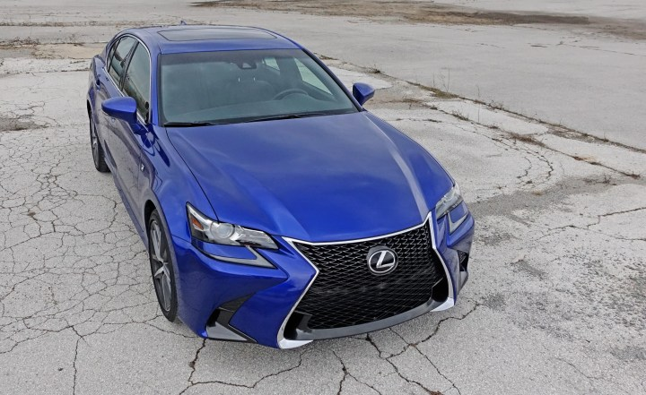 The Lexus GS 350 F Sport is fun to drive and includes multiple modes to match our skill and mood.