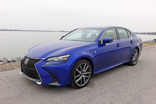 2017 Lexus GS 350 F Sport Review - 14