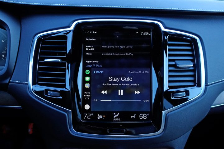 The 2017 Volvo XC90 infotainment system is one of the best we've ever used.