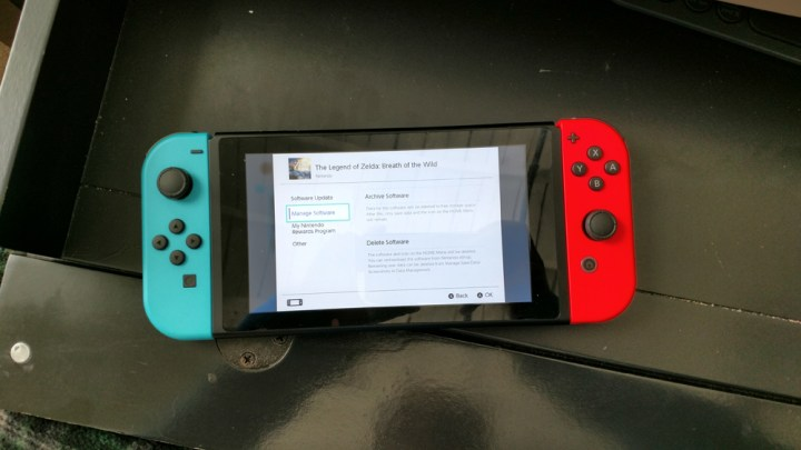 How to Delete Nintendo Switch games.
