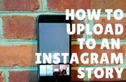 How to upload any photo or video to your Instagram Story.