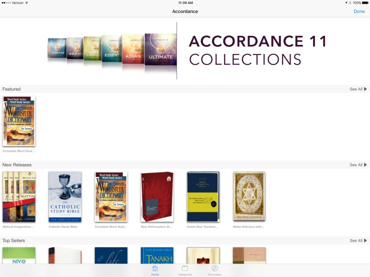 accordance bible store