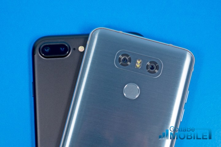How the LG G6 and iPhone 7 Plus cameras compare.