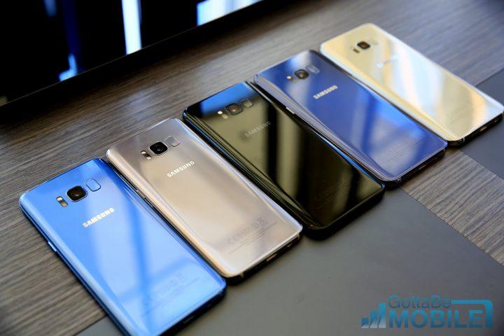Samsung galaxy s8 какие цвета