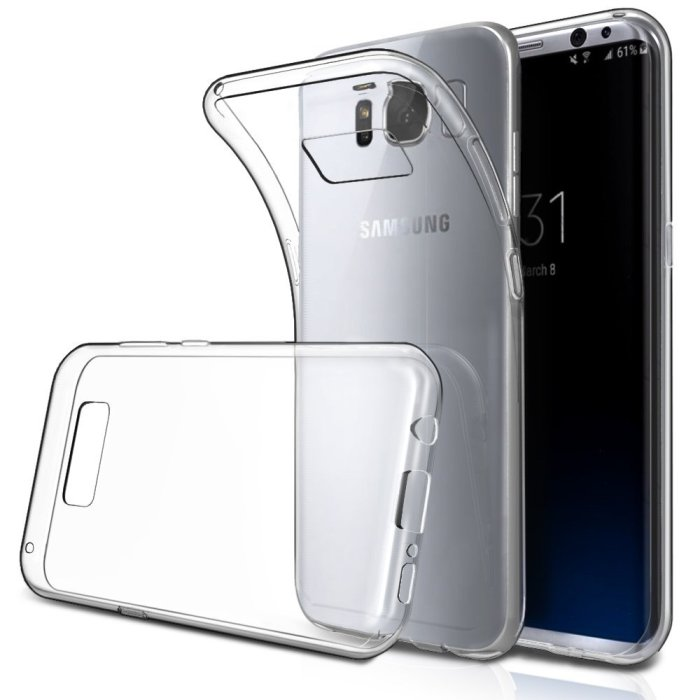 SimPeak TPU Clear Case ($5)