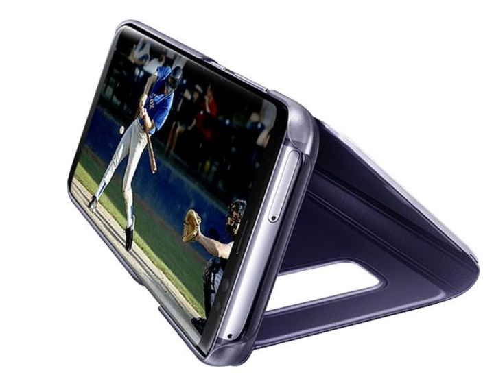 Samsung Clear View Stand Case for Galaxy S8