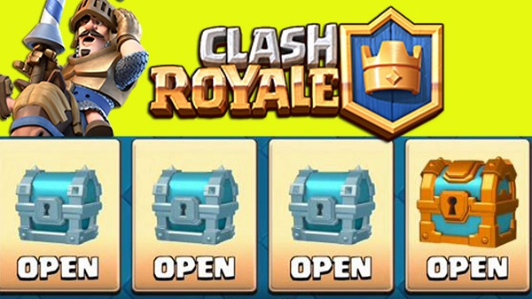 Open Earned Chests at Night