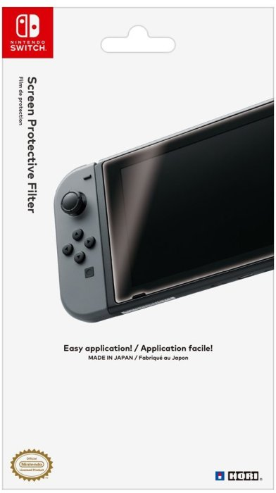 Hori Officially Licensed Screen Protective Filter for Nintendo Switch – $6.99
