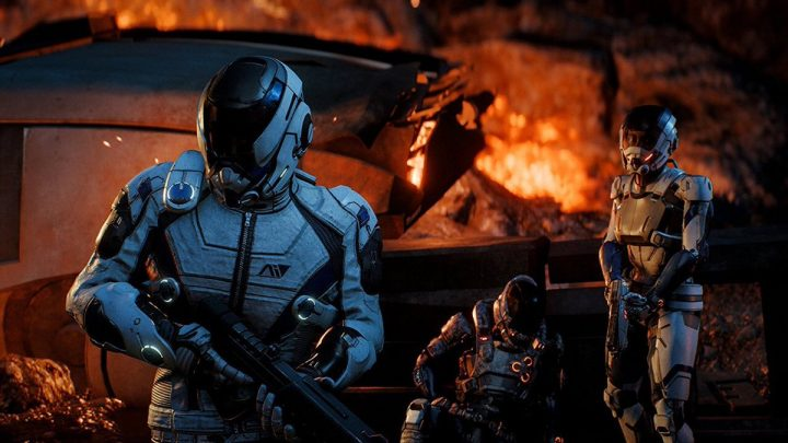 The Pathfinder in Mass Effect Andromeda.