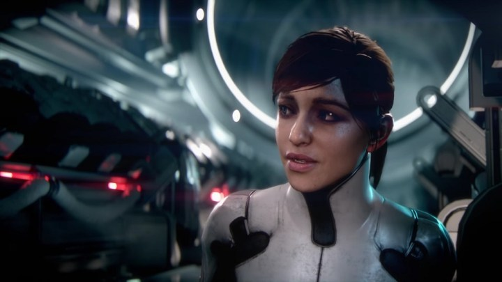 Sara Ryder, one of Mass Effect Andromeda's two main protagonists.
