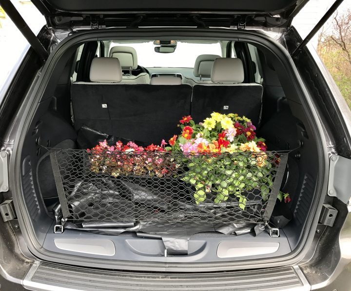 Adaptable cargo space in the Grand Cherokee is quite useful.