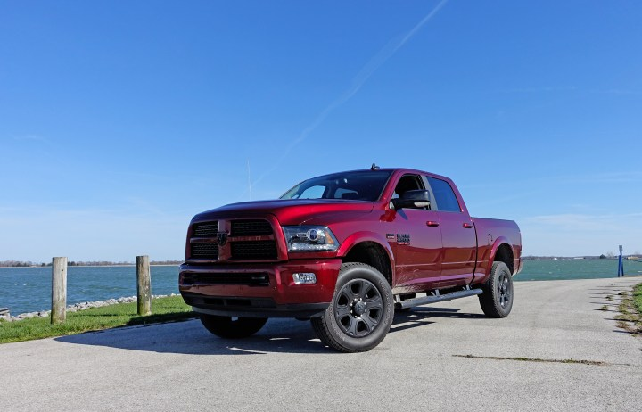 The 2017 RAM 2500 offers bold looks with the Sport appearance package.