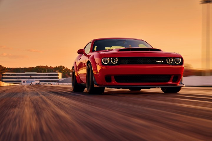 The 2018 Dodge Challenger SRT Demon specs include many firsts and best for a production car.