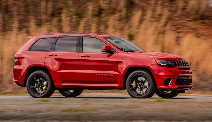 The Jeep Trackhawk price is official.