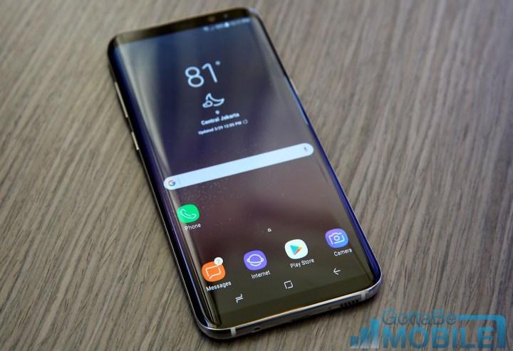 Galaxy S8+ vs Galaxy Note 5: Display