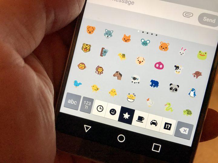 How to use LG G6 emoji.