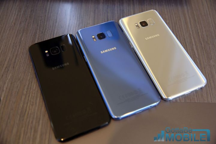 Galaxy S8+ vs Galaxy Note 5: Design
