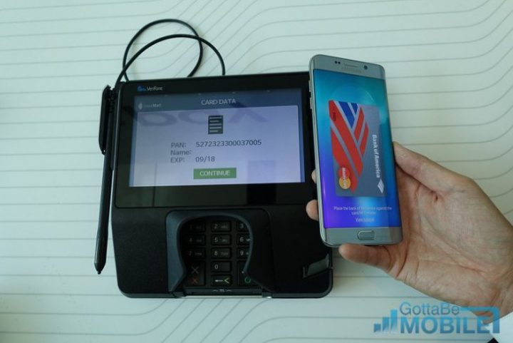 The Galaxy S8 Can Be a Wallet