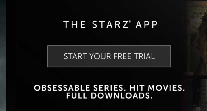You can get a free STARZ trial from multiple services.