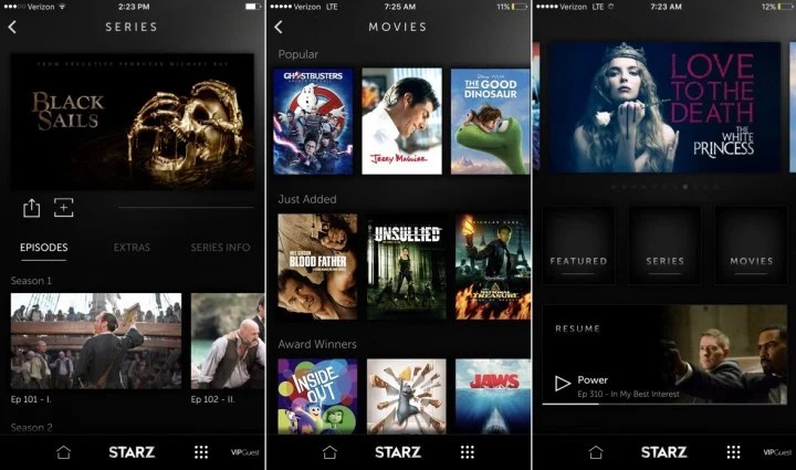 This is what you need to know about the Starz app.