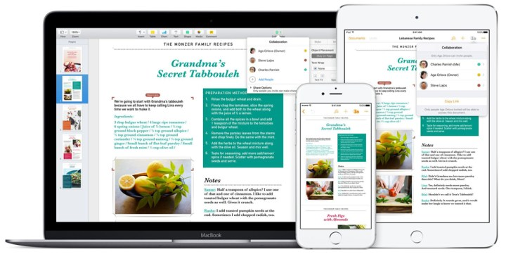 iWork's Pages