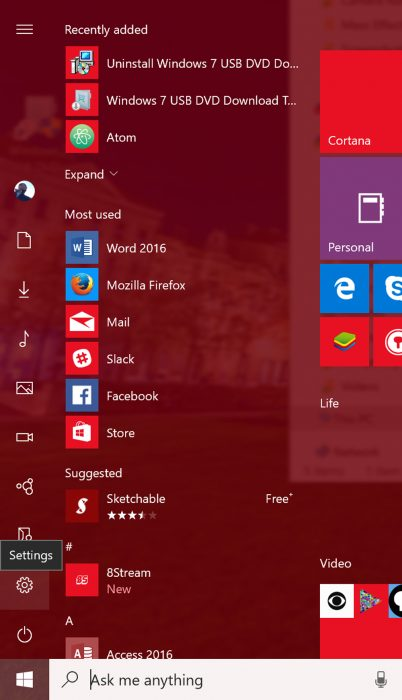 how to open devices and printers in windows 10