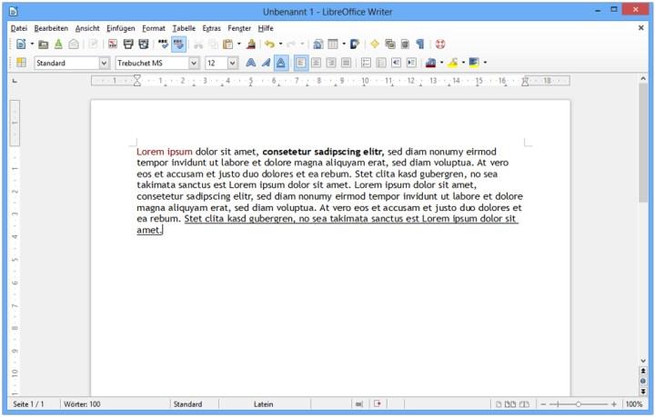 LibreOffice's Writer