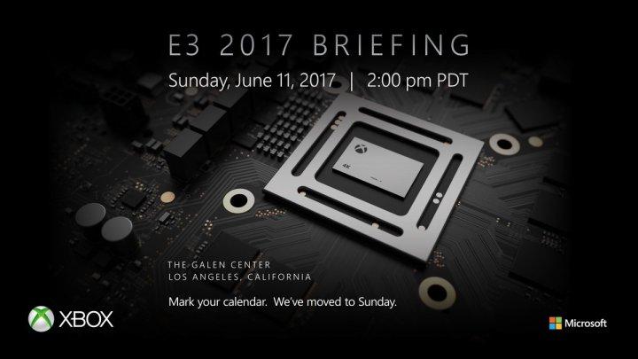 Xbox Scorpio E3 2017 confirmation