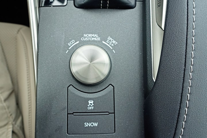 Dial in your driving mode to match your mood and road conditions.
