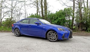 2017 Lexus IS 350 F Sport Review - 11