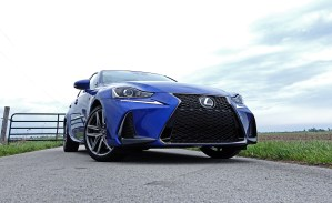 2017 Lexus IS 350 F Sport Review - 13