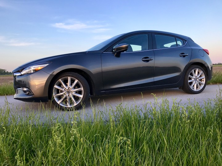 The Mazda 3 Hatchback driving experience is fun-filled.