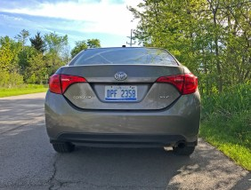 2017 Toyota Corolla Review - Back