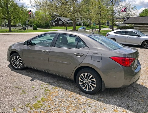 2017 Toyota Corolla Review - side