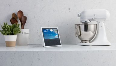 This is the Amazon Echo Show, Alexa with a touch screen and camera.