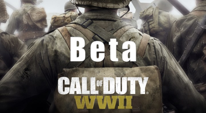 Pre-Order for the Call of Duty: WWII Beta
