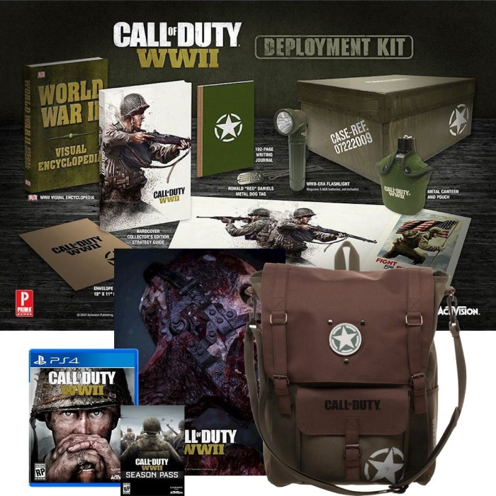 The Best Buy Call of Duty: WWII Deployment Kit edition.