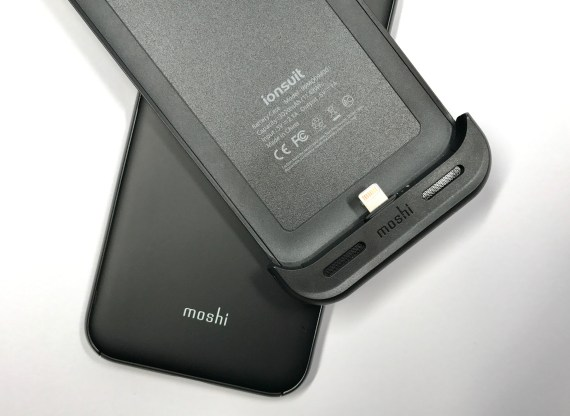 Moshi ionSuit Review iPhone 7 Battery Case - 5