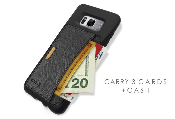 CM4 Wallet & Kickstand Case for Galaxy S8