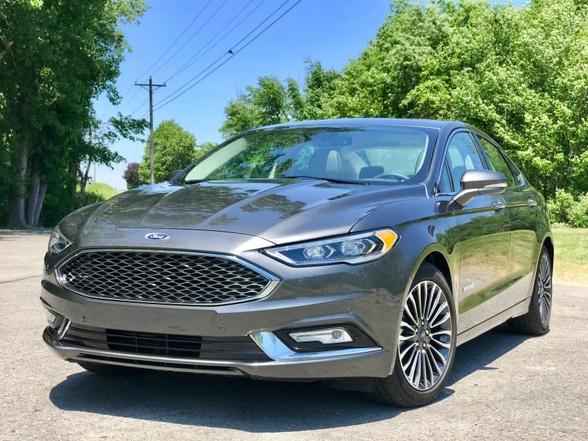 We like the 2017 Fusion Hybrid style.