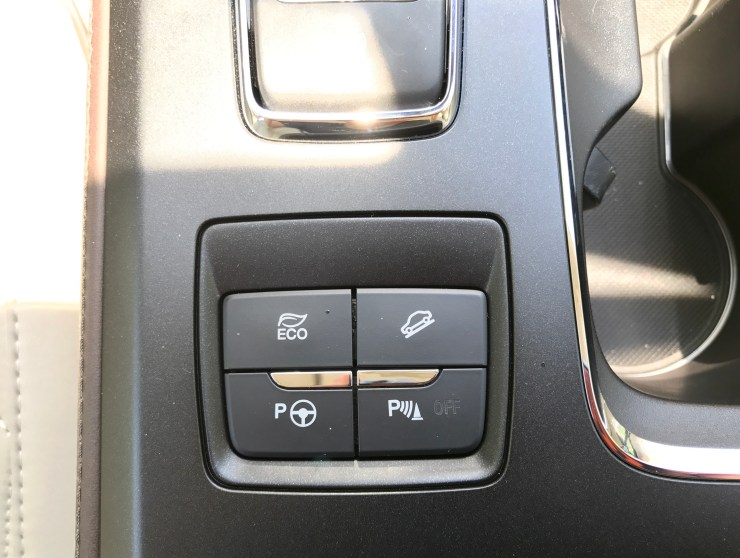 There are a number of useful safety and driver convenience features.
