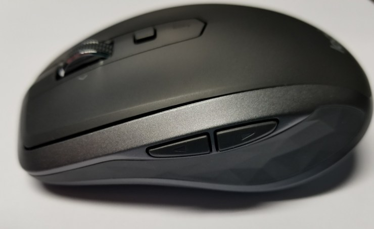logitech mx anywhere 2s bluetooth mouse side buttons