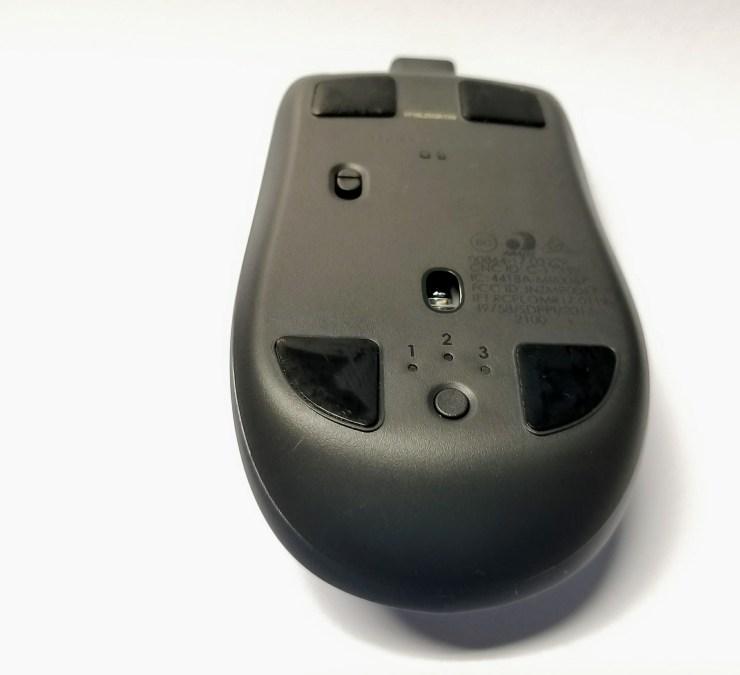 logitech mx anywhere 2s bluetooth mouse bottom