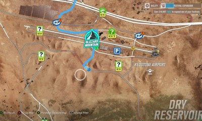 Here's where to go for Ultimate Air Skills in Forza Horizon 3.