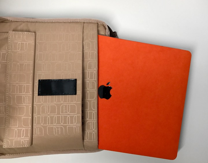 The laptop compartment fits the 15-inch MacBook Pro perfectly.