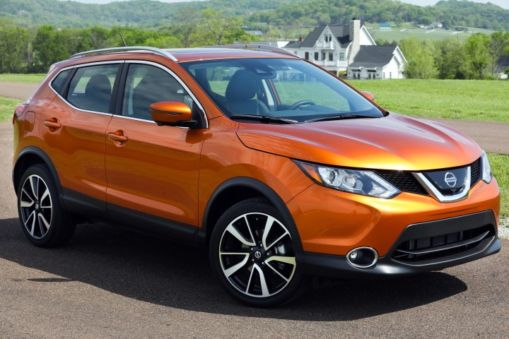 The Nissan Rogue Sport is $3,000 less than the Rogue.