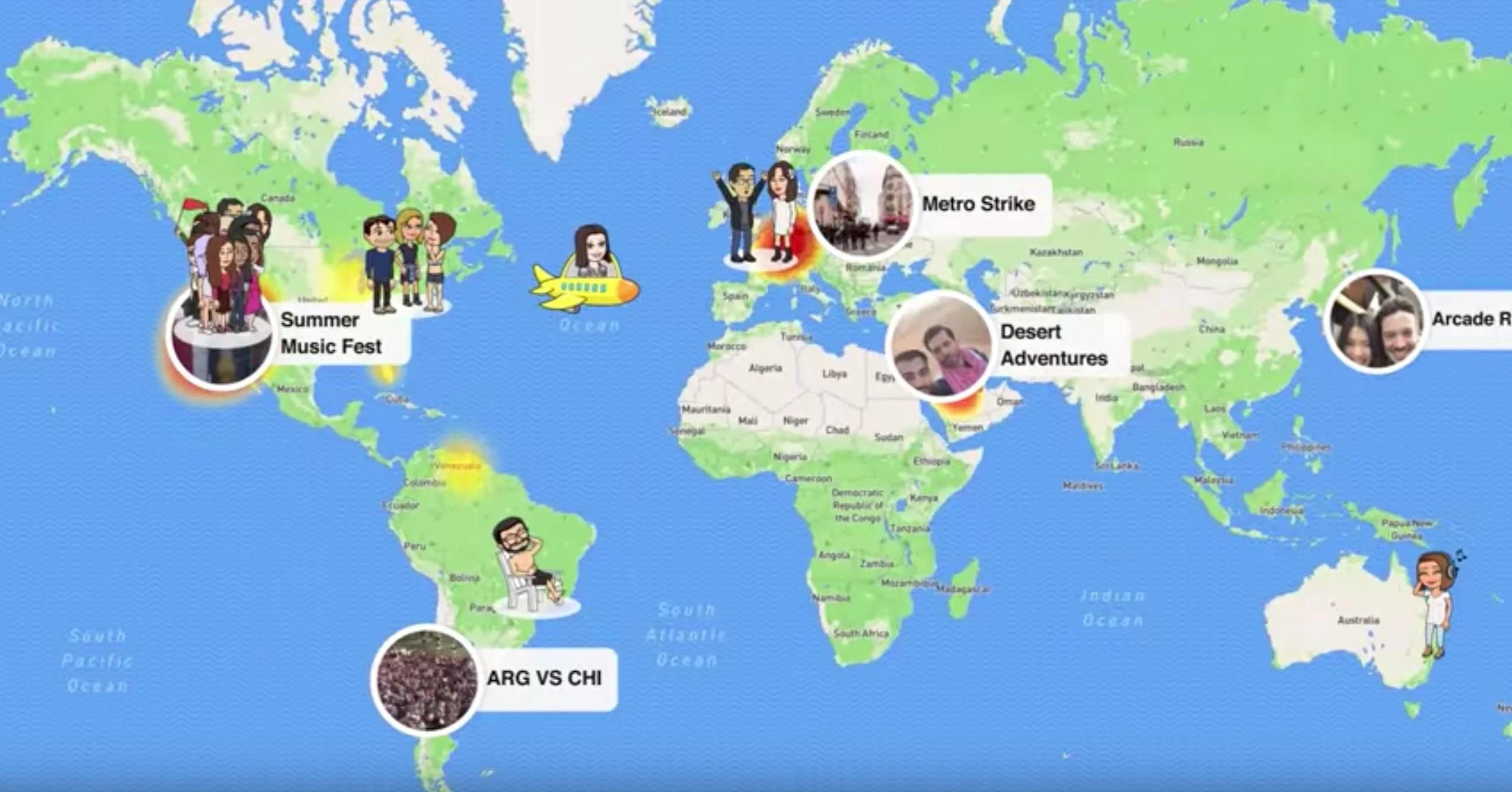 How To Use Snapchats Snap Map
