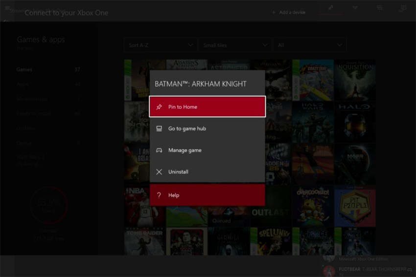 How to Transfer Xbox One game 3